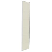 Porta para Cozinha Lille Alumínio e Vidro Reflec 200cmx40cm F40/200