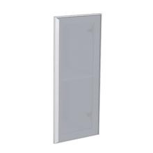 Porta para Cozinha Lille Alumínio e Vidro Silver Grey F30/70