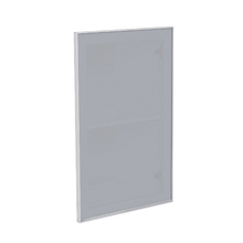 Porta para Cozinha Lille Alumínio e Vidro Silver Grey F45/71