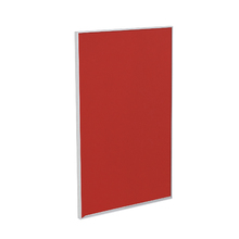 Porta para Cozinha Lille Alumínio e Vidro Vermelho F45/70
