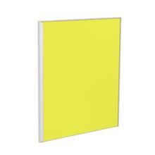 Porta para Cozinha Lille Vidro Amarelo F50/71