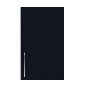 Porta para Cozinha Paris e Cristallo Preto F40/70