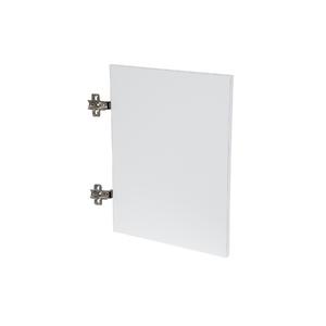 Porta para Nicho Quadrado 40x40cm Branco Infinity Spaceo