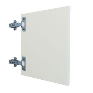 Porta para Nicho MDF Branco 35x35x1,5 cm Prime Vtec