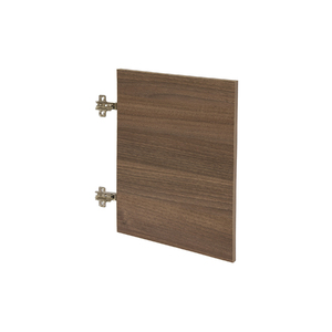 Porta para Nicho Quadrado 40x40cm Nogal Infinity Spaceo