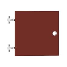 Porta para Nicho Quadrado 34x34cm  vermelho Cube Luciane