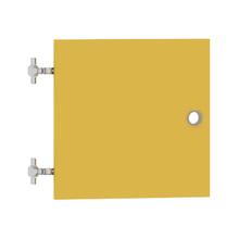 Porta para Nicho Quadrado 34x34cm Amarelo Cube Luciane