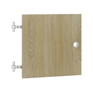 Porta para Nicho Quadrado 34x34cm Carvalho Cube Luciane