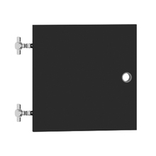Porta para Nicho Quadrado 34x34cm Preto Cube Luciane
