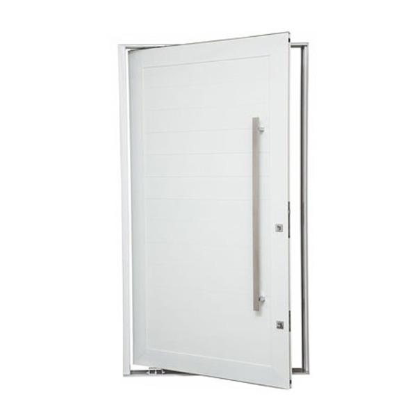 Porta montada pivotante lisa metal alum nio esquerdo 2 - Porta carta igienica leroy merlin ...