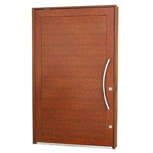 Porta pivotante Aluminio 223,5 x 126 x 12 cm Lambris horizontais lado Direito Aluminium Sasazaki