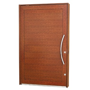 Porta pivotante Aluminio 243,5 x 146 x 12 cm Lambris horizontais lado Esquerdo Aluminium Sasazaki