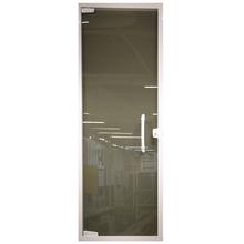 Porta Pivotante Vidro Fumê Sob Medida C&R
