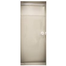 Porta Pivotante Vidro Incolor Sob Medida C&R