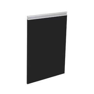 Porta Preto Fosca Direita 69,7X42x1,8cm Grenoble Delinia