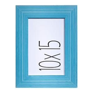 Porta Retrato Cacau Azul 10x15cm