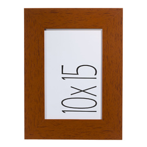 Porta Retrato Cacau Marrom 10x15cm