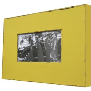 Porta Retrato Color Rústico Amarelo 10x15cm Kapos