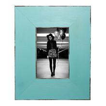 Porta Retrato Color Rústico Azul 10x15cm