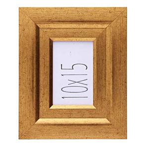Porta Retrato de Madeira 10x15 1415 Povo Ouro