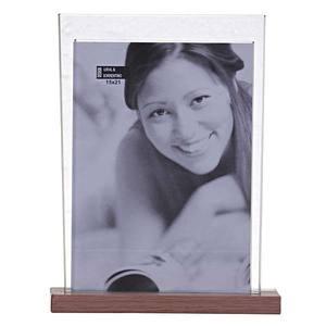 Porta Retrato de Vidro 15X21 0379 Fan Carv