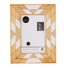 Porta Retrato Étnico Preto 10x15cm
