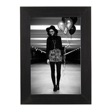 Porta Retrato Fondi Preto 10x15cm