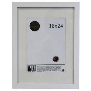 Porta Retrato Lario Branco 18x24cm