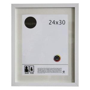 Porta Retrato Lario Branco 24x30cm
