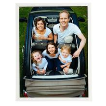 Porta Retrato Lila Branco 18x24cm