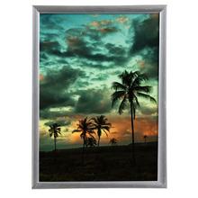 Porta Retrato Lila Cinza 18x24cm