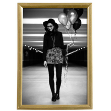 Porta Retrato Lila Dourado 10x15cm
