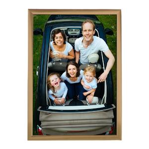 Porta Retrato Lila Dourado 13x18cm