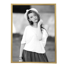 Porta Retrato Lila Dourado 18x24cm