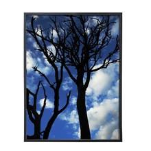 Porta Retrato Lila Preto 10x15cm
