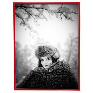 Porta Retrato Lila Vermelho 13x18cm