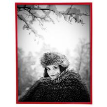 Porta Retrato Lila Vermelho 18x24cm