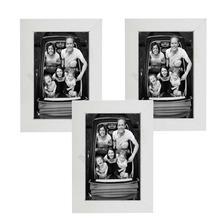 Porta Retrato Liso Branco 10x15cm