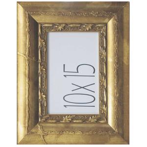 Porta Retrato Madeira 10x15cm Paris Ouro Kapos
