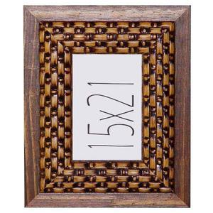 Porta Retrato Madeira Dic 15x21cm Tabaco Design Loral