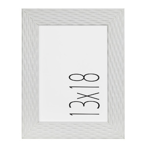 Porta Retrato Marmelo Branco 13x18cm