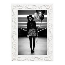 Porta Retrato Massa Branco 10x15cm