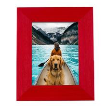 Porta Retrato Mia Vermelho 10x15cm