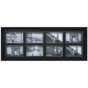 Porta Retrato Multifotos Bee Collection Preto 73x28cm