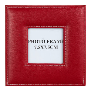 Porta Retrato Photoframe Vermelho 7,5x7,5cm