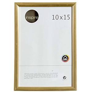 Porta Retrato PVC Urba Dourado 15x10cm Importado