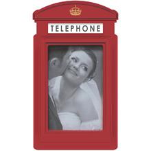 Porta Retrato Telephone Vermelho 10x15cm