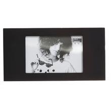 Porta Retrato Vidro Hjet 10x15cm Preto Design Loral