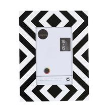 Porta Retrato Zebra Preto e Branco 10x15cm