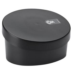Porta Sabão Plástico 9,5x16,2x12,2 10842 Preto Brinox